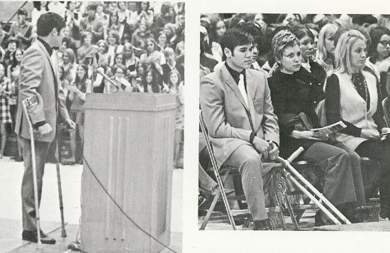 Freddie Steinmark Day at WRHS January 28, 1970